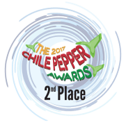 The 2017 Chile Pepper Awards - 2nd Place